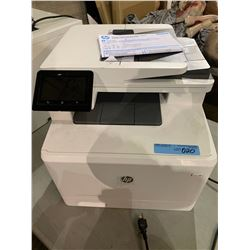 HP Color Laser Jet Pro MFP M477fdn printer from the show office