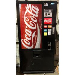 "1990s Coke Vending Machine - 64""H x 32""W x 24""D"