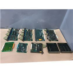 LOT OF MITSUBISHI CIRCUIT BOARDS - SEE PHOTOS FOR BOARD NUMBERS