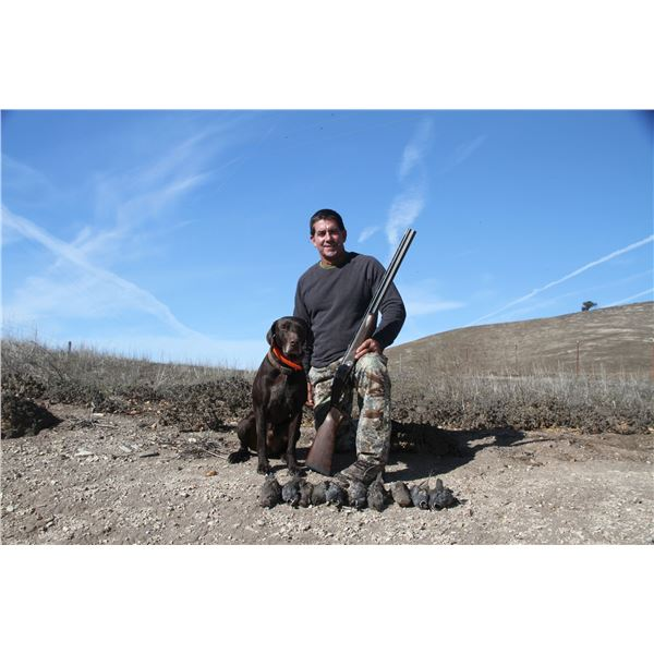 2 Day Quail Hunt for Two Hunters