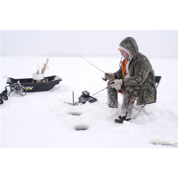 3 Day/3 Night Ice Fishing & Pike Spearing Trip for Two Anglers