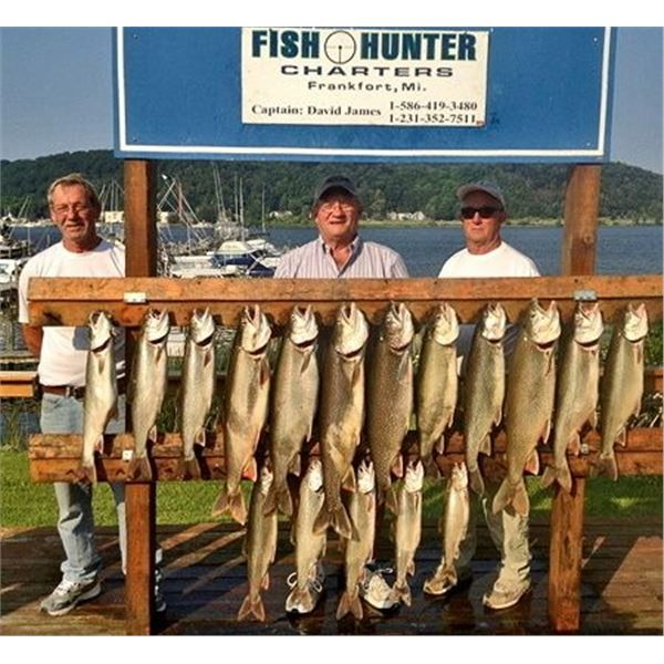 1/2 Day Salmon/Trout Fishing Charter for 1 to 4 people Mon-Friday