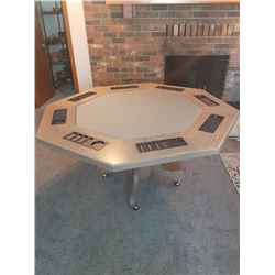 Poker Table made by Great Falls Own Terry Hill