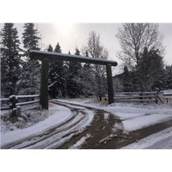 Custom Log Gateway Entry from Bouma Post Yard Inc