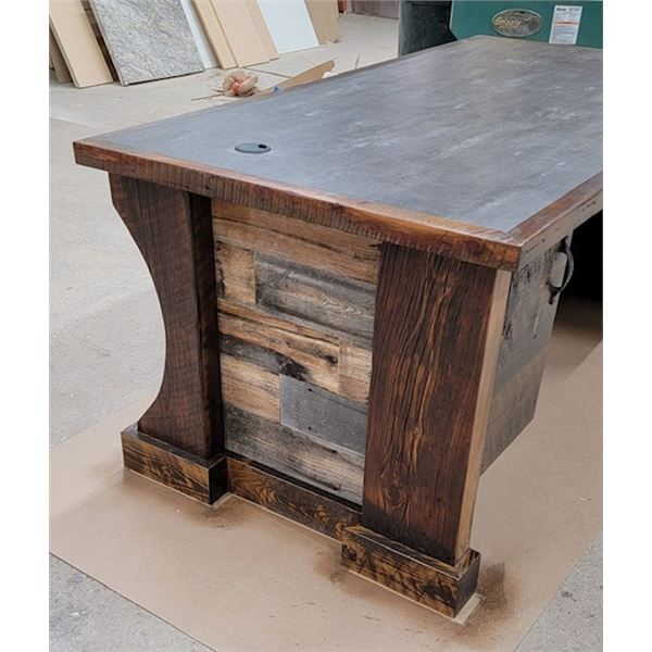 Custom Desk by Great Falls Own Steve Reiling