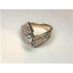 14K .40ct Diamond Ring