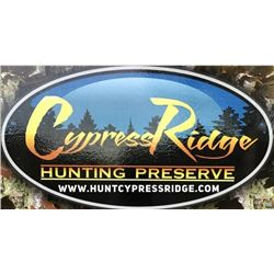 Cypress Ridge Hunting Preserve - Pheasant Shoot
