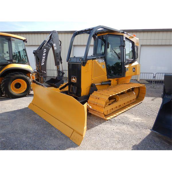2013 JOHN DEERE 550K LGP Dozer / Crawler Tractor