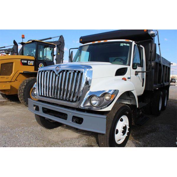 2009 INTERNATIONAL 7400 WORKSTAR Dump Truck