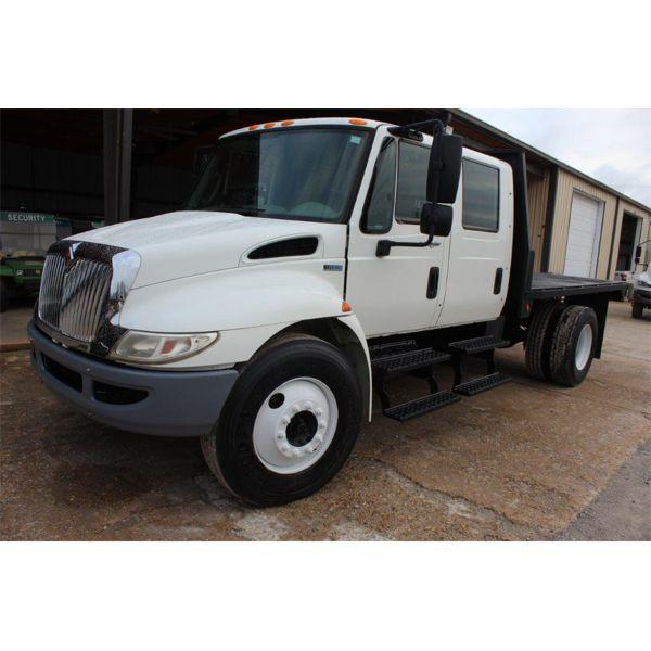 2014 INTERNATIONAL 4300 DURASTAR Flatbed Dump Truck