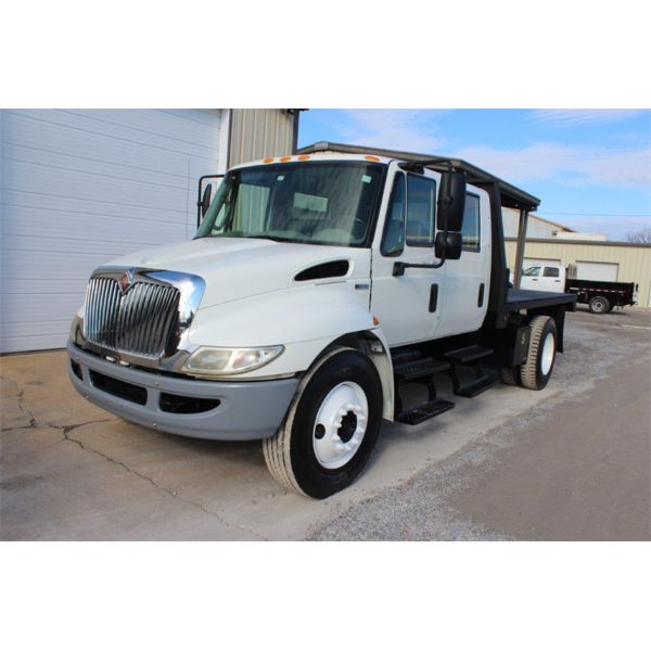 2014 INTERNATIONAL 4300 Flatbed Dump Truck