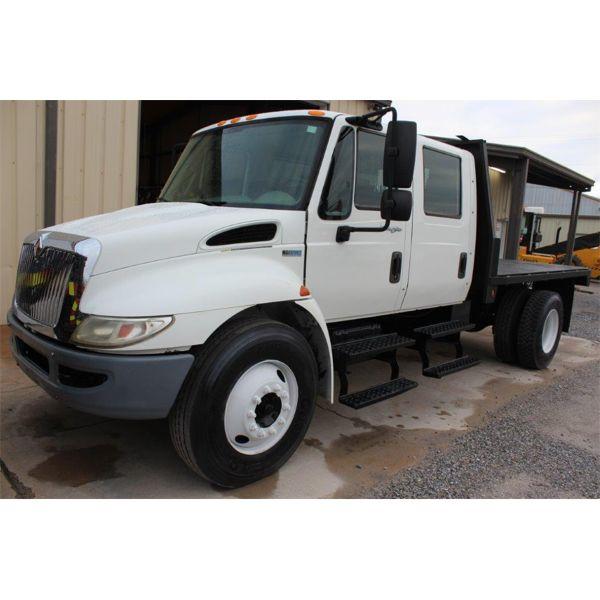 2013 INTERNATIONAL 4300 DURASTAR Flatbed Dump Truck