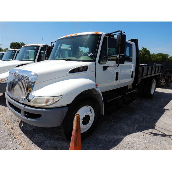 2011 INTERNATIONAL 4300 DURASTAR Flatbed Dump Truck