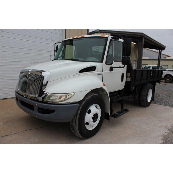 2010 INTERNATIONAL 4300 DURASTAR Flatbed Dump Truck