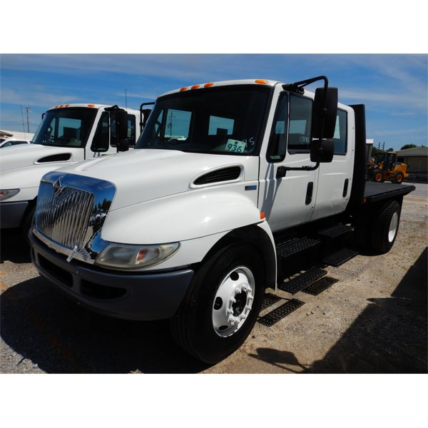 2012 INTERNATIONAL 4300 DURASTAR Flatbed Truck