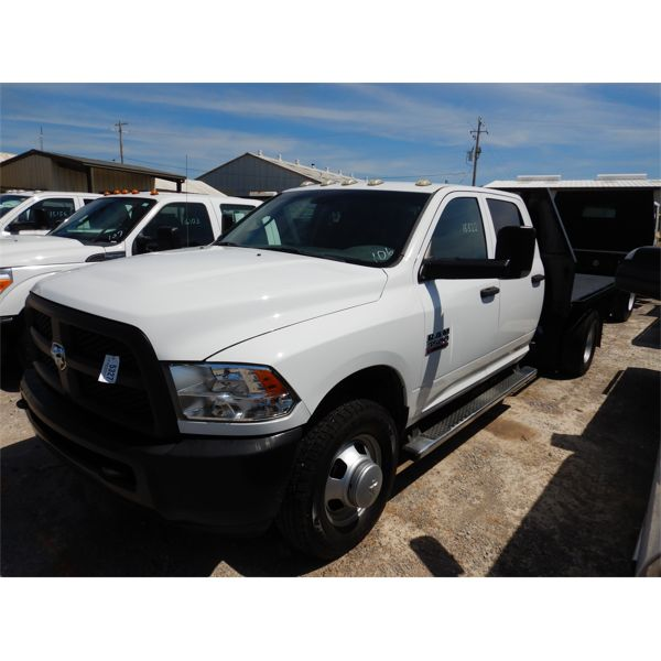2014 RAM 3500 Flatbed Truck