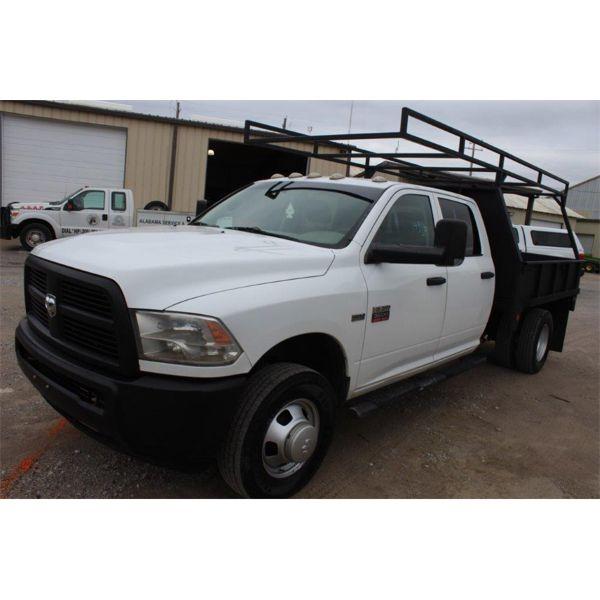2012 RAM 3500 Flatbed Truck