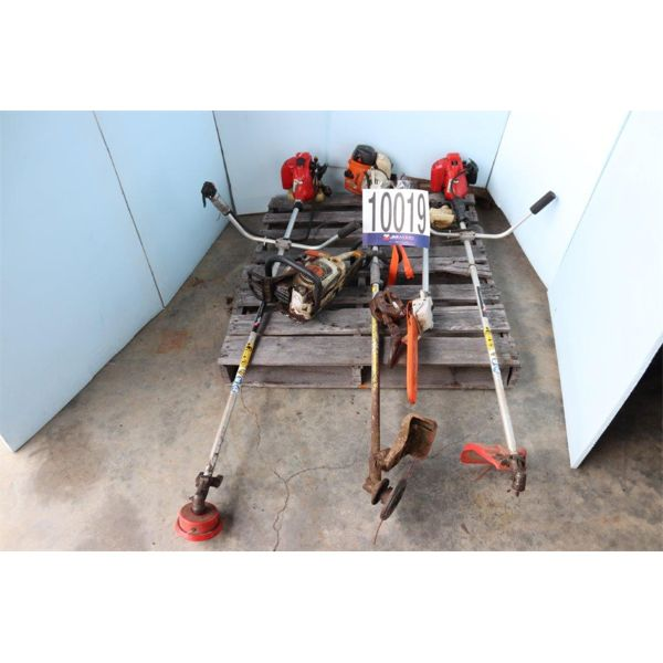 LIFTING CLAMP, GRASS TRIMMERS, POLE SAW, CHAIN SAW, Selling Offsite: Located in Guntersville, AL