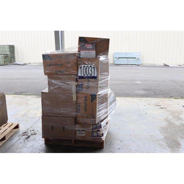 PAPER TOWELS,  AIR FILTERS, Selling Offsite: Located in Guntersville, AL