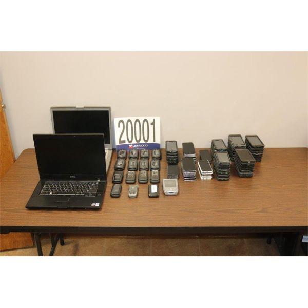 PHONES, PDAs, LAPTOPS, Selling Offsite: Located in Tuscumbia, AL