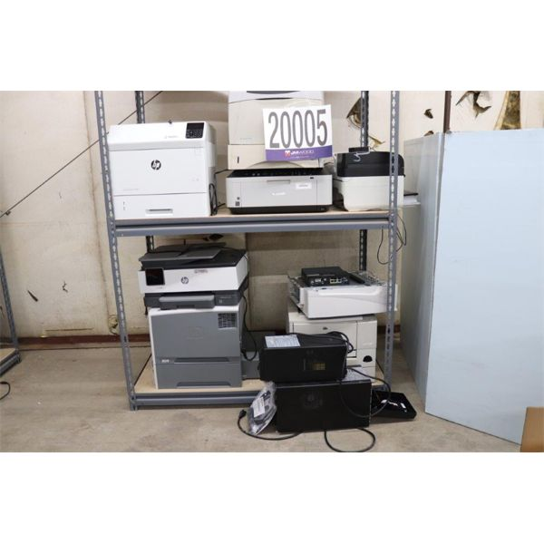 PRINTERS, UPSs, ROUTER, Selling Offsite: Located in Tuscumbia, AL