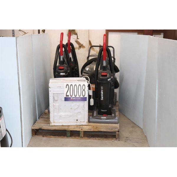 VACUUMS, A/C WINDOW UNIT, Selling Offsite: Located in Tuscumbia, AL