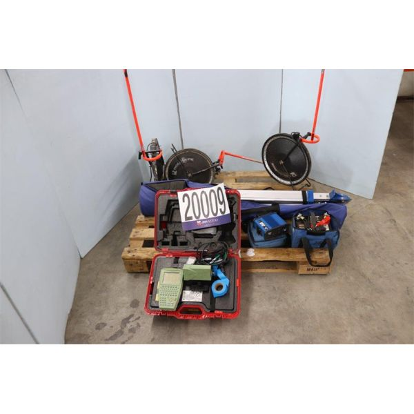 DISTANCE MEASURING WHEELS, DATA COLLECTION UNIT, Selling Offsite: Located in Tuscumbia, AL