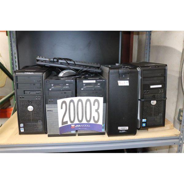 CPUs, Selling Offsite: Located in Tuscumbia, AL