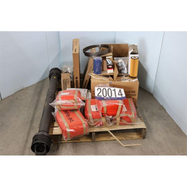 FILTERS, PRISM BAGS, BLADES, NYLON CORD, Selling Offsite: Located in Tuscumbia, AL