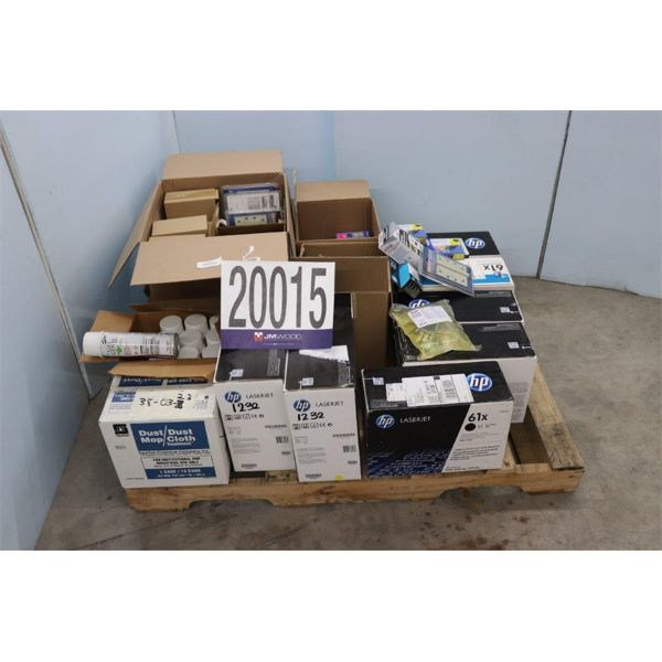 JANITORIAL SUPPLIES, PRINTER SUPPLIES, Selling Offsite: Located in Tuscumbia, AL