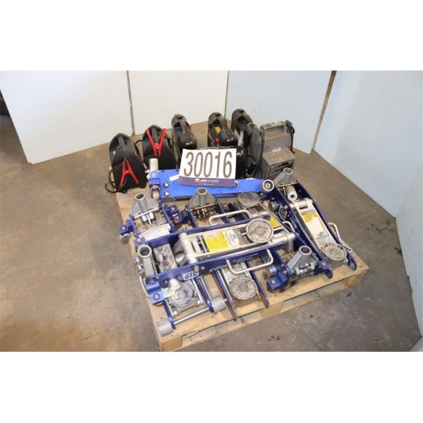 BATTERY CHARGERS, HYDRAULIC FLOOR JACKS, Selling Offsite: Located in Birmingham, AL