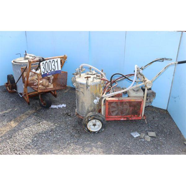 THERMAL ADHESIVE APPLICATOR, PAINT MACHINE, Selling Offsite: Located in Birmingham, AL