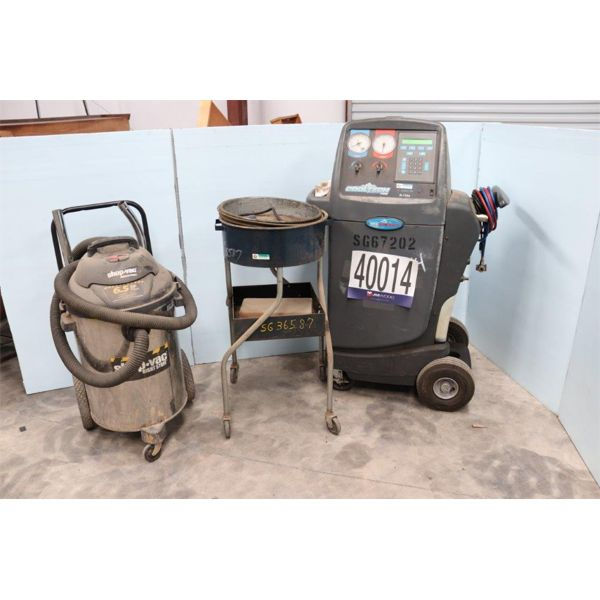 PARTS WASHER, VACUUM, COOLANT RECYCLER, Selling Offsite: Located in Alexander City, AL
