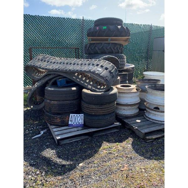 RIMS,TIRES, Selling Offsite: Located in Alexander City, AL