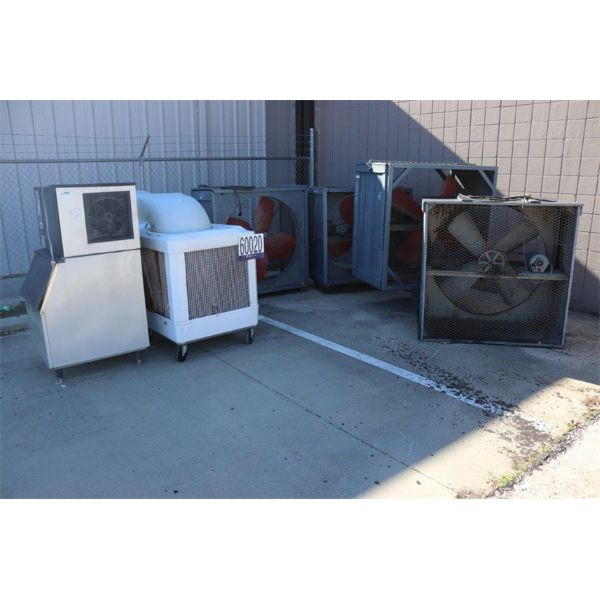 FANS, ICE MACHINE, Selling Offsite: Located in Montgomery, AL