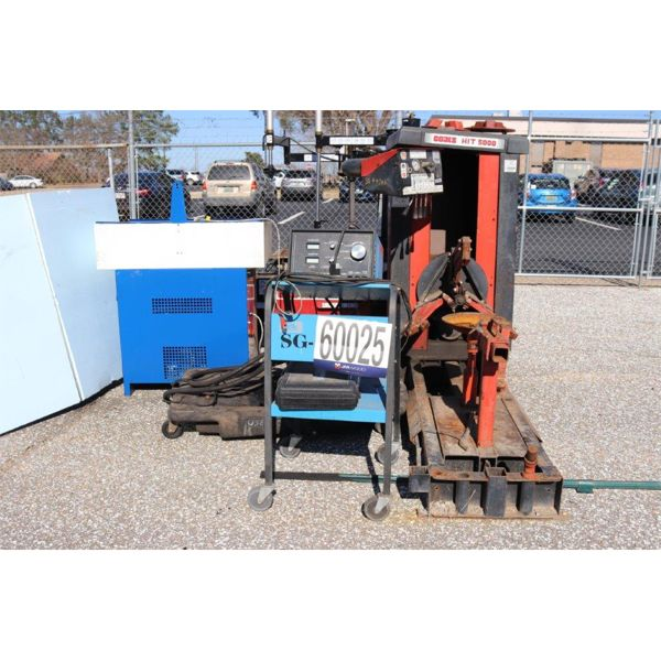 TIRE CHANGING MACHINE, BATTERY ANALYZER, PARTS WASHER, OIL PUMP, Selling Offsite: Located in Montgom