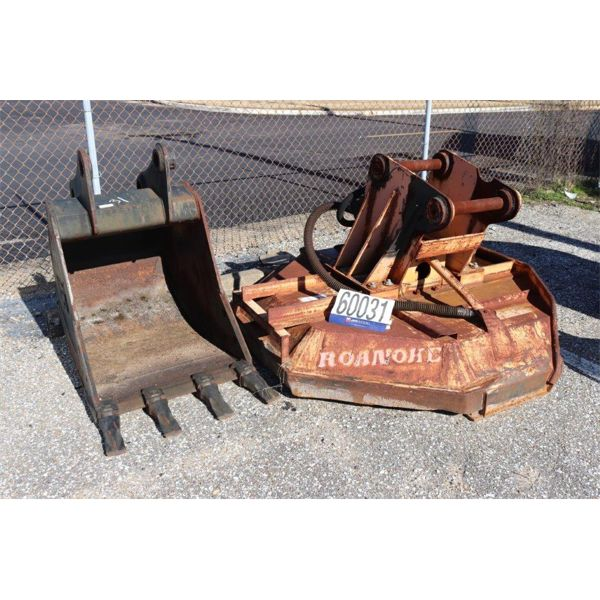 BUCKET, BOOM MOUNTED ROTARY CUTTER, Selling Offsite: Located in Montgomery, AL