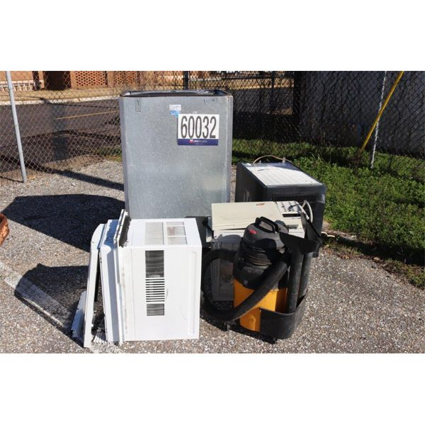 VACUUM, A/C WINDOW UNITS, ICE MACHINES, Selling Offsite: Located in Montgomery, AL