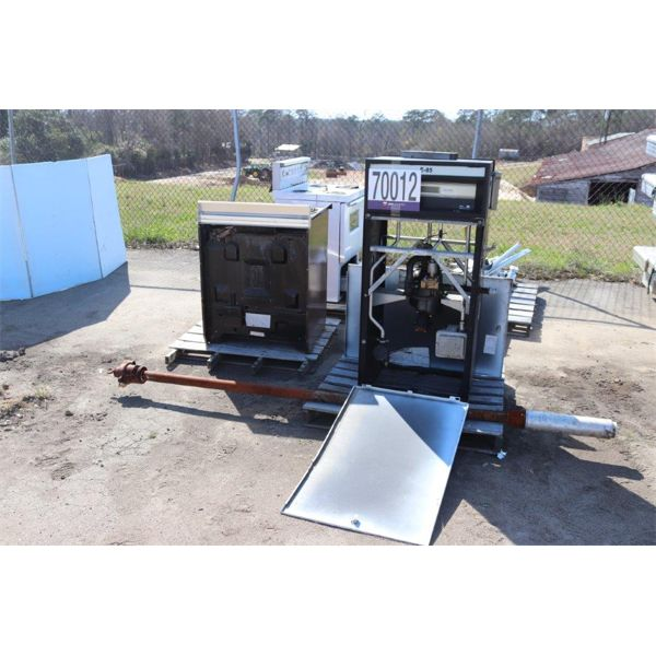 FUEL PUMP, OVENS, TARP ARMS, Selling Offsite: Located in Troy, AL