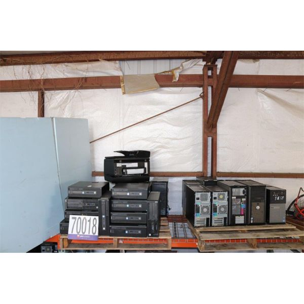 CPUs, PRINTER, Selling Offsite: Located in Troy, AL