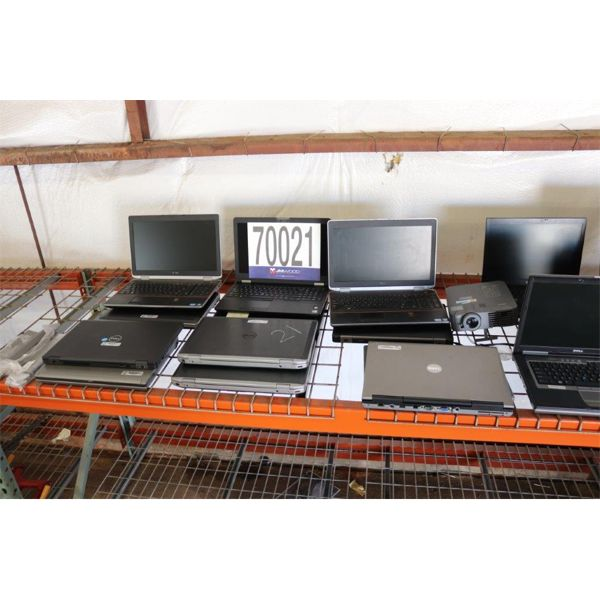 LAPTOPS, TABLET, PROJECTOR, GPS, CAMERA, Selling Offsite: Located in Troy, AL