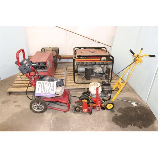 PRESSURE WASHER, GRASS TRIMMER, WELDER, GENERATOR, Selling Offsite: Located in Troy, AL