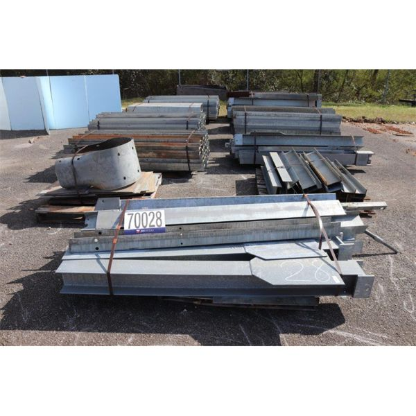GALVANIZED H BEAMS, Selling Offsite: Located in Troy, AL