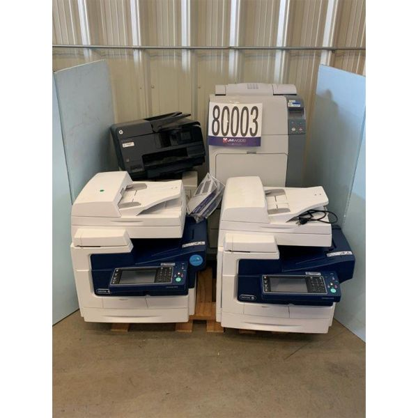 PRINTERS, Selling Offsite: Located in Grove Hill, AL