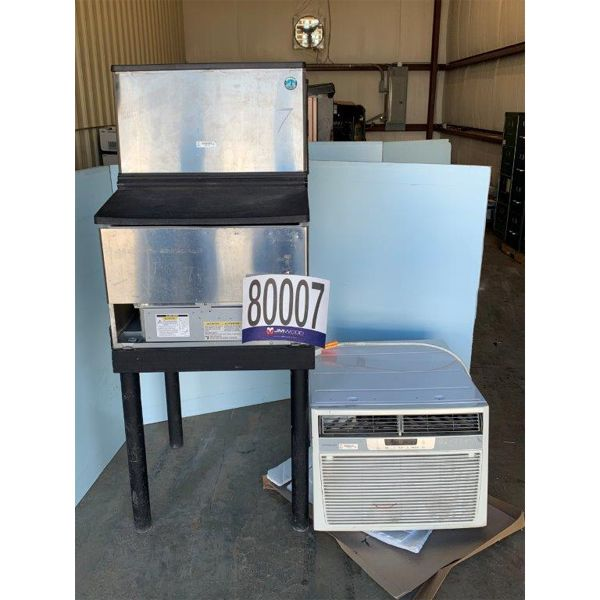 A/C WINDOW UNIT, ICE MACHINE, Selling Offsite: Located in Grove Hill, AL