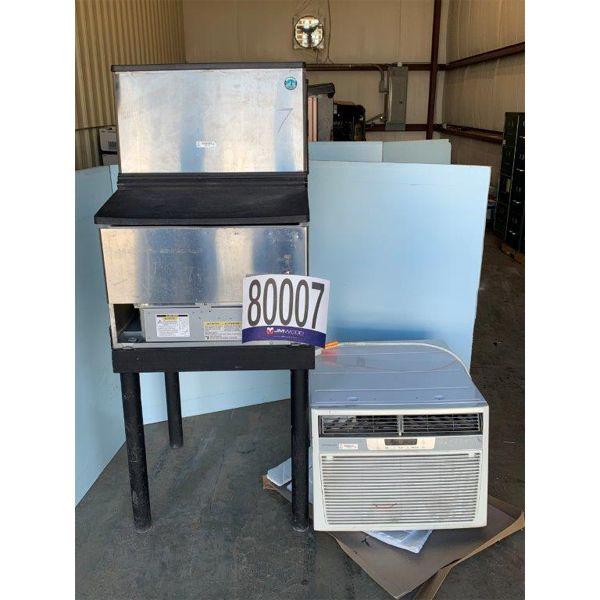 A/C WINDOW UNIT, ICE MACHINE, Selling Offsite: Located in Grove Hill, AL