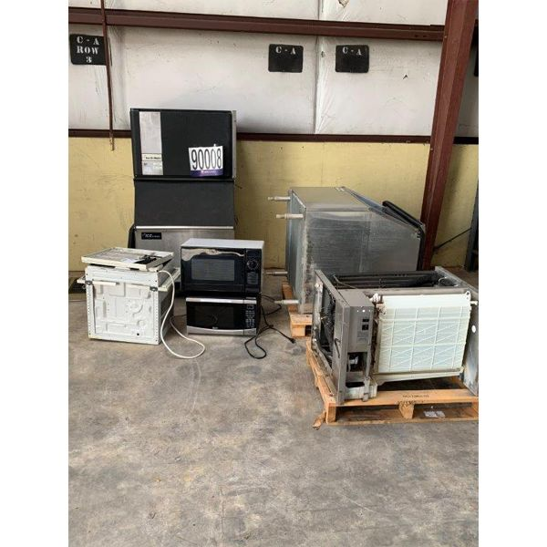 A/C WINDOW UNIT, MICROWAVE, ICE MACHINE, Selling Offsite: Located in Mobile, AL