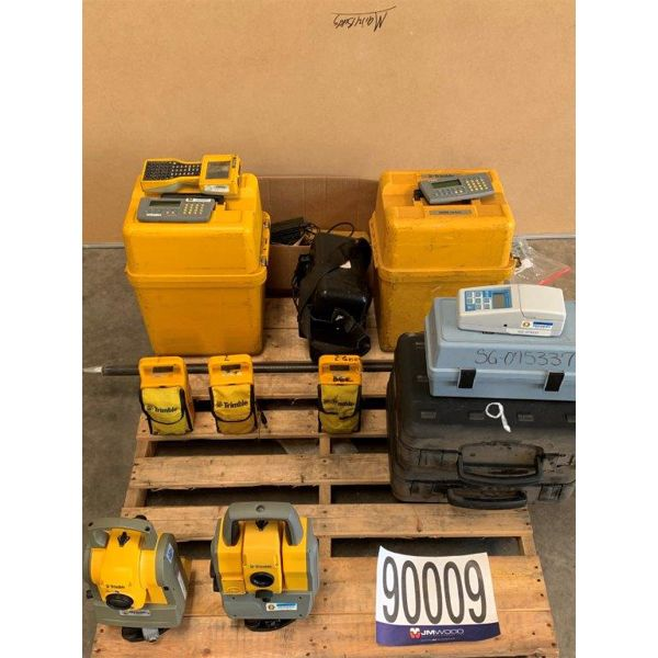 ELECTRONIC SURVEY TOTAL STATIONS, ELECTRONIC DATA COLLECTOR, TURBIDITY METER, Selling Offsite: Locat