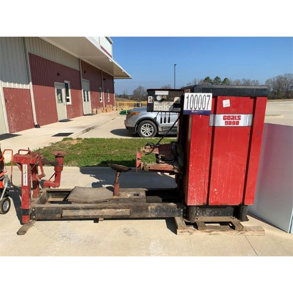 WHEEL DOLLY, TRANSMISSION JACK, TIRE CHANGING MACHINE, ASPHALT MIXER, Selling Offsite: Located in Fa