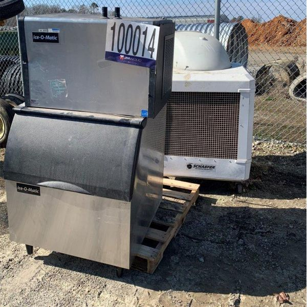 EVAPORATIVE COOLING FAN, ICE MACHINE, Selling Offsite: Located in Fayette, AL